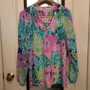 NWT Lilly Pulitzer Lets Cha Cha Elsa Size Small